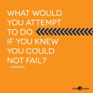 Interests what would you attempt to do if you knew you could not fail